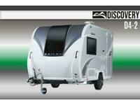 Bailey Discovery D4-2, NEW, 2021, Touring Caravan