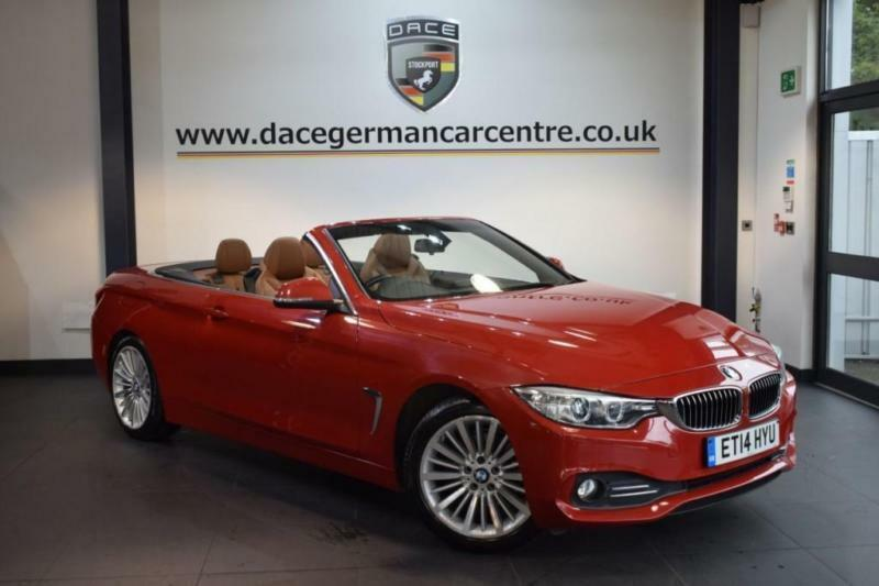 2014 14 BMW 4 SERIES 2.0 420D LUXURY 2DR AUTO 181 BHP DIESEL