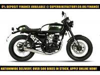 2017 HANWAY HC125 BLACK CAFE EFI 125CC 0% DEPOSIT FINANCE AVAILABLE