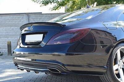 Carbon Dachspoiler Ansatz Mercedes CLS W218 Spoiler Dach Heck Aufsatz AMG ABS