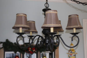 French Country swag light for sale