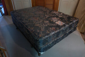 Queen-size King Koil Mattress, box spring and bed frame