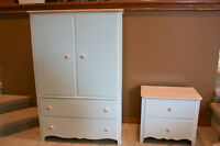 Armoire and Night Stand