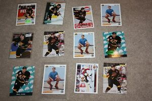 Lot of 12 Pavel Bure Vancouver Canucks hockey cards