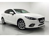 2014 Mazda 3 2.2d Sport Nav 5dr Diesel white Manual