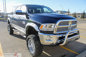 2016 RAM 3500 LARAMIE DIESEL LIFTED  0% FOR 84 MONTHS OAC !!
