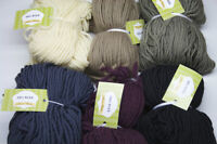Pure Merino Wool Yarn 100gr/110m (3.5oz/109yrd) Felting