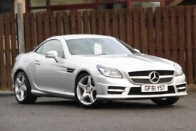 2011 MERCEDES SLK SLK200 1.8 BLUEEFFICIENCY AMG SPORT ED125 2DR CONVERTIBLE PETR