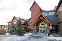 Fresh, Modern Condo in Three Sisters in Canmore.