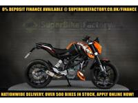 2016 66 KTM DUKE 125 125CC 0% DEPOSIT FINANCE AVAILABLE