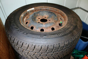 225/70R16 Winter Tires & Rims