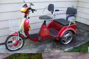 Bicycle à 3 roues électrique