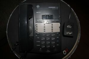 GE 2 Line Pro Series phone with answering system
