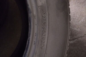 4 - 275/60R20 tires