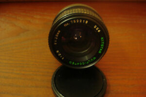Camera Lens Canon 28mm.