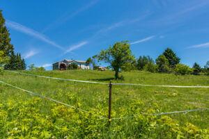 Fermette 30 acres