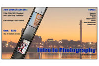 Intro to Photography Course - Moncton