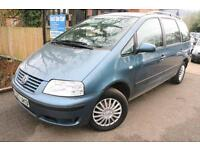 2001 (Y Reg) VW Sharan 2.0 SE Long MOT 7 Seater Car FSH Cambelt Changed