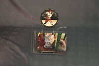 Picture Wall Clock with Hockey Player