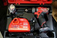 """Milwaukee M12 FUEL 1/2"""" Hammer Drill/Driver Kit with XC 4.0 batt"""
