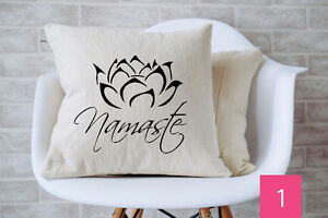 Decorated Homemade Throw Pillows - Insert Included
