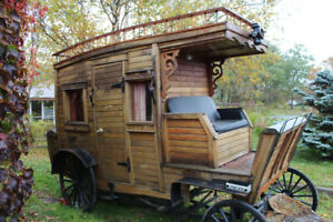 Custom built Wooden Stagecoach, Original Owner.
