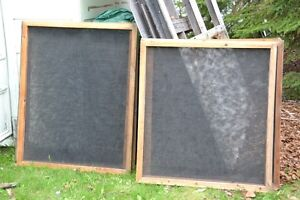 Framed Nylon Screens