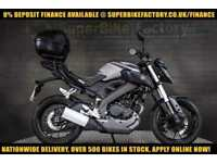 2015 15 YAMAHA MT-125 ABS 125CC 0% DEPOSIT FINANCE AVAILABLE