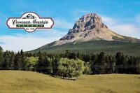 NOW FOR A LIMITED TOME RV LOTS IN CROWSNEST PASS $39,900+