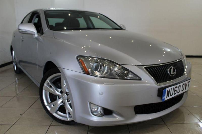 2010 60 LEXUS IS 2.5 250 SE-L 4DR AUTOMATIC 204 BHP