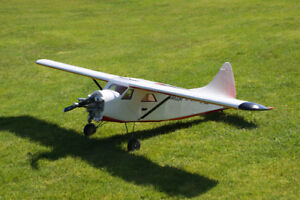 Two model planes and accessories