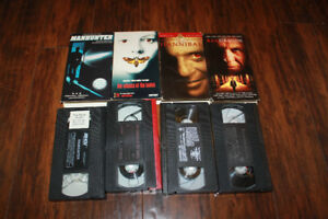Hannibal, Manhunter, Red Dragon Silence of the Lambs VHS $5 all