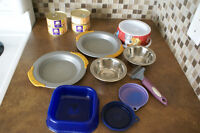 Dishes, Lids, Food, Knot Remover
