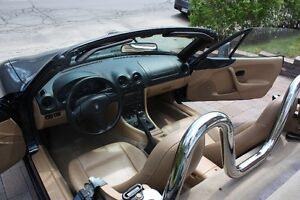 2000 Mazda MX-5 Miata Roll bar en chrome Cabriolet