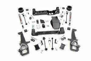 """4"""" Rough Country SUSPENSION LIFT  2012 - 2017 Dodge Ram 1500"""