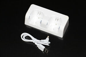 NINTENDO WII U+WII-REMOTE-CHARGEUR/STAND CHARGER-BLANC/WHITE (NEUF/NEW) [VOIR/SEE DESCRIPTION]
