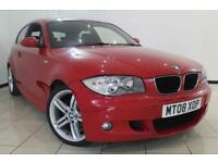 2008 08 BMW 1 SERIES 1.6 116I M SPORT 3DR 121 BHP