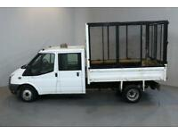 FORD TRANSIT 2.4 350 100 BHP L3 LWB TIPPER