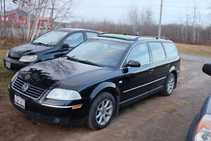 PARTS.....2004 VW PASSAT WAGON  AUTO 1.8 TURBO..... PARTS
