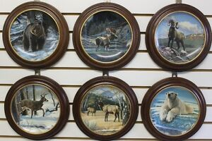 Wild and Free : Canada's Big Game Collector Plates