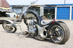 Custom built 250cc chopper