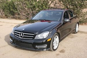 2014 Mercedes-Benz C-Class C300 4M.LEATHER,SUNROOF,ALLOYS,AUTO