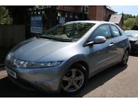 2008 Honda Civic 1.8 I-VTEC Sport Blue 5 Door FSH Long MOT Finance Available