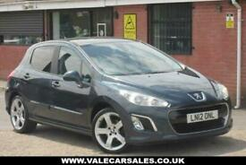 image for 2012 12 PEUGEOT 308 1.6 E-HDI ALLURE (GREAT SPEC) 5DR DIESEL