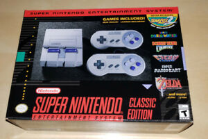 SNES Classic console - brand new & sealed!