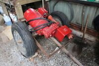 PTO GENERATOR on wheels/frame FOR SALE   ('FORNEY')