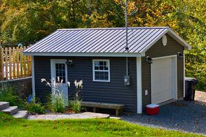 Garages, Sheds, Cottages We Build Them All!