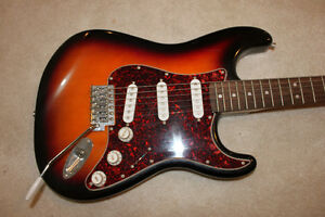 Squier Strat Electric Guitar Like NEW