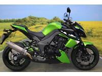 Kawasaki Z1000 2012 ** RACE EXHAUST, SERVICE HISTORY, RADIATOR GUARD **