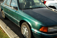 1993 Plymouth Acclaim Sedan - URGENTLY NEED TO SELL THIS CAR.